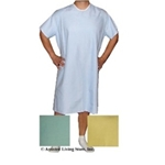 Hospital Gown: Blue, Pink, Yellow, Green