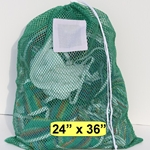Green Mesh Wash Bag
