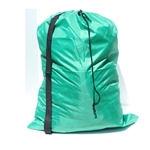 Green Laundry Bag Carry Strap