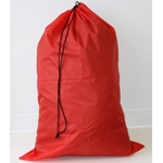 "Red 24""x 36"" polyester laundry bag"
