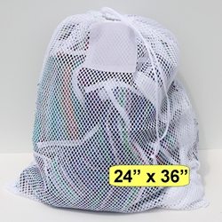 "Mesh Net Bag White 24"" x 36"""
