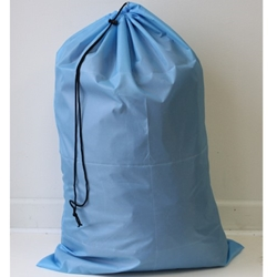 "Light blue 24""x 36"" polyester laundry bag"