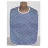 Adult Bib Blue Cross Check (each)