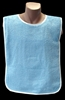 Adult Bib Blue Various Neck Closures (Per Dozen)