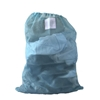 "Light Blue Mesh Net Draw String Laundry Bags 30"" x 40"""