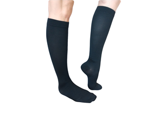 Black Compression Socks almost Knee High (Per Pair)