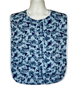 Blue Forest Adult Bib Waterproof Back with Snaps