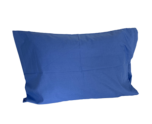 Blue Pillowcase 180 Thread Count