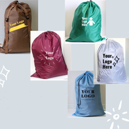 Custom Printing on Laundry Bags, Pillowcases and More