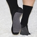 Deluxe Black Calf Height Non Slip Socks (per pair)