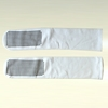 Deluxe VERY LARGE White Long Non Slip Socks (per pair)