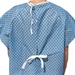 Economy Straight Tie Back Patient Gown (Each)