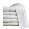 Economy Wash Cloths and Towels White