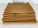 Stack of 6 Golden Brown Pillowcases, Standard Size 180 Thread Count