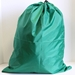 "Green Laundry Bag 22"" x 28"" with Grommet (each)"