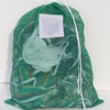 "Green Mesh Net Draw String Laundry Bags 18"" x 24"""