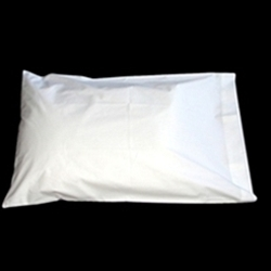 White 100% Cotton T220 Pillowcases Standard Size (Per Dozen)