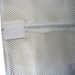 "Zipper White Mesh Net Laundry Bags 18"" x 24"""