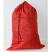"Red Non Washable Polyester Bag 24"" x 36"" - Medium Sized Laundry Bag"
