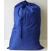 "Blue Non Washable Polyester Bag 24"" x 36"" - Medium Sized Laundry Bag"